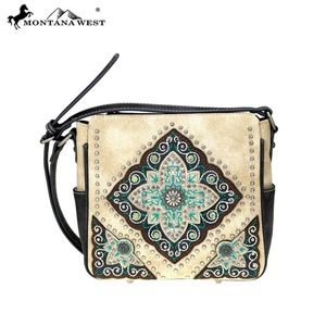 Montana West Aztec Collection Crossbody Bag